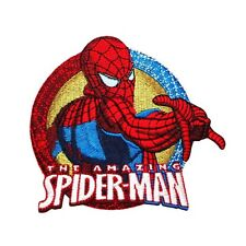 "Marvel Superhero ""The Amazing Spider-Man"" Patch Teen Hero Kids Iron-On Applique"