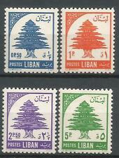LIBAN  1955  YT  n° 118 à 121  Neufs ★★  / MNH