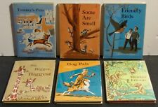 DOLCH FIRST READING BOOKS LOT OF 6 IN DUST JACKET, 1958 - 59, BASIC SIGHT WORDS
