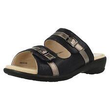Sandali e scarpe blu per il mare da donna tacco basso ( 1,3-3,8 cm ) , Numero 39