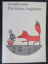 Der kleine Angsthase-Elizabeth Shaw-DDR Bilderbuch-Schulbuchausgabe