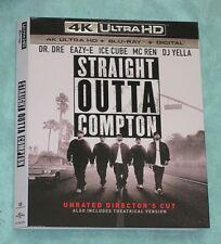 STRAIGHT OUTTA, SPY WHO DUMPED ME  4K Blu ray slipcover
