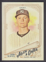 Topps - Allen & Ginter 2018 - Base # 109 Sonny Gray - New York Yankees