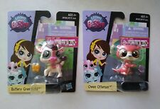 ❤️❤❤️Littlest Pet Shop lps Single Packs Buttery Greenfield & Owen Otterson.❤️❤❤️
