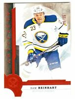2016-17 UD Artifacts ORANGE Parallel #3 SAM REINHART 49/55 Buffalo Sabres