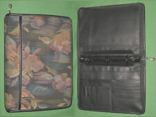 "CLASSIC ~ 1.25""  FLORAL TAPESTRY Rolfs Planner BINDER Franklin Covey FLOWER 9208"