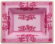 Orient Italien Pourpre,Plateau vide-poches Rectangulaire 19 cm,Porcelaine,