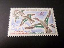 FRANCE 1960, timbre 1275, OISEAUX SARCELLES, VFMNH STAMP, BIRDS