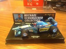 1/43 Minichamps Bennetton B195 Schumacher Brasil winner msc #16