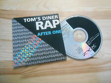 CD Pop After One - Tom's Diner Rap (2 Song) ZYX MUSIC Suzanne Vega