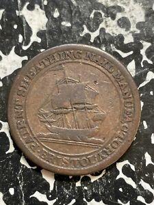 1811 Great Britain Bristol 1/2 Half Penny Token Lot#BG155