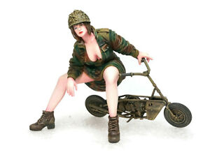 """75mm Overlord Show-stopper - """"Welbike"""" OL-75-0018 Resin Kit"""