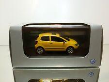 SCHUCO  VW VOLKSWAGEN FOX 1.4 - YELLOW 1:43 - EXCELLENT IN DEALER BOX
