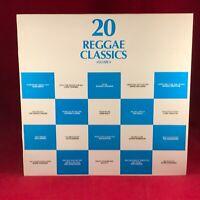 VARIOUS 20 Reggae Classics Volume 4 1990 UK vinyl LP EXCELLENT CONDITION Trojan