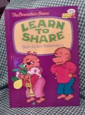 The Berenstain Bears Learn to Share by Stan Berenstain and Jan Berenstain...