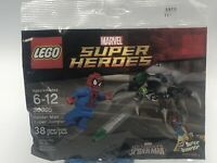 New Lego Marvel Super Heroes Spider Man Super Jumper 30305 Polybag Minifigure