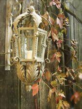 Nostalgie Lampe - antike Laternen, Aussenlampe Lombardei Windlicht Aussenleuchte
