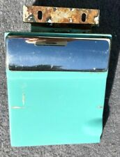 1953-1954 Hudson Jet Gas Door with Stainless Trim Strip & hinge and one spring.