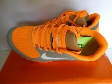 Nike Free 4.0 V3 Size 3 (uk) IT 36 - US 5.5 cm 22.5 Orange Grey BNIB