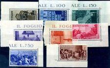 Francobolli della Repubblica italiana fino al 1948 foglio
