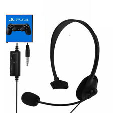Headphones Gaming Game For PS4 PC Earset Mono With Microphone Jack 3.5 Universal