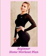 Pamela Reifs Home Workout Beginner weekly Workout Plan no equipment needed