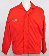 COCA-COLA Coke Red Zip Up Insulated Basic Jacket Coat - Work Wear - MEN'S  L