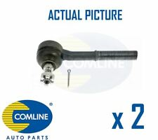 2 x FRONT OUTER TRACK ROD END RACK END PAIR COMLINE OE REPLACEMENT CTR3075