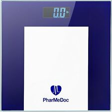 PharMeDoc Hi-Tech Digital Weight Scale – Precision Body Bathroom Scale