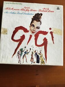Reel to reel pre recorded 3 3/4 ips track tape. Part 1 Only.  'Gigi' MGM