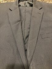 Ralph Lauren BLACK LABEL Slim Navy Pinstripe Suit ~ 46L 40x31