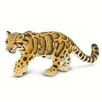 Clouded Leopard Wild Safari Animal Figure Safari Ltd 100239  NEW IN STOCK