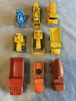 Vintage Matchbox LESNEY LOT Of 9