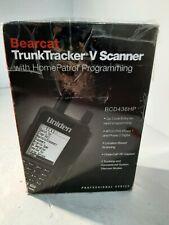 Bearcat TrunkTracker V Scanner with HomePatrol Programming