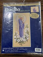 Bucilla Counted Cross Stitch Madonna and Child 42559 Mary Mother Jesus Unopened