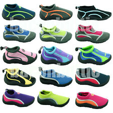 Mens Womens Boys Girls Childrens Kids Aqua Wet Shoes Boots Beach Surf Water Pool