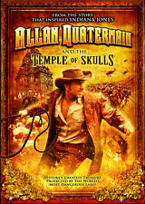 Allan Quatermain and the Temple of Skulls (DVD, 2008)