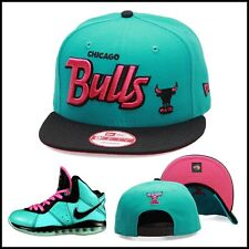New Era Chicago Bulls Snapback Hat Cap Designed For Lebron 8 South Beach 9 10 11