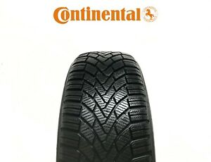 1X 195/55R16 - CONTINENTAL WINTER CONTACT TS850 **7.6mm** PART WORN - M+S - 87H