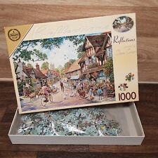 1000 Piece Jigsaw Puzzle Reflections by Steve Crisp 49 x 68. Complete