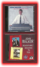 John Walker Organist 2 CD's Organ Keyboards Music
