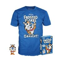 Frosted Flakes Funko T-Shirt XL + Tony Tiger Pocket Pop Combo New in Box
