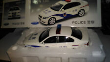 Very Rare 1/18 BMW 330i China Chinese Polizei/Police Welly Modellauto car PKW