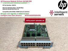 HP Procurve Module 24-Port 10/100 POE  -  J9547A