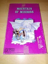RARE 1983 TSR Dungeons & Dragons - Mountain of Mirrors Puzzle