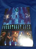 Back Street Boys Black&Blue World Tour Book 2001 Men's chorus