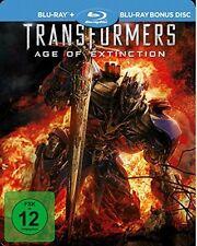 Blu-ray ++ Transformers 4  Ära des Untergang ++ Exklusive Steelbook Edition