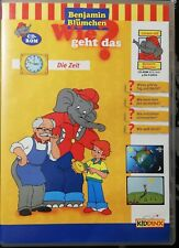 Lernspiel PC Benjamin Blümchen Die Zeit / Kinder 4 bis 6 Jahre