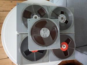 Tonbänder 18cm