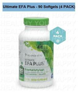 Ultimate EFA Plus 90 Soft Gels (4 PACK) Youngevity
